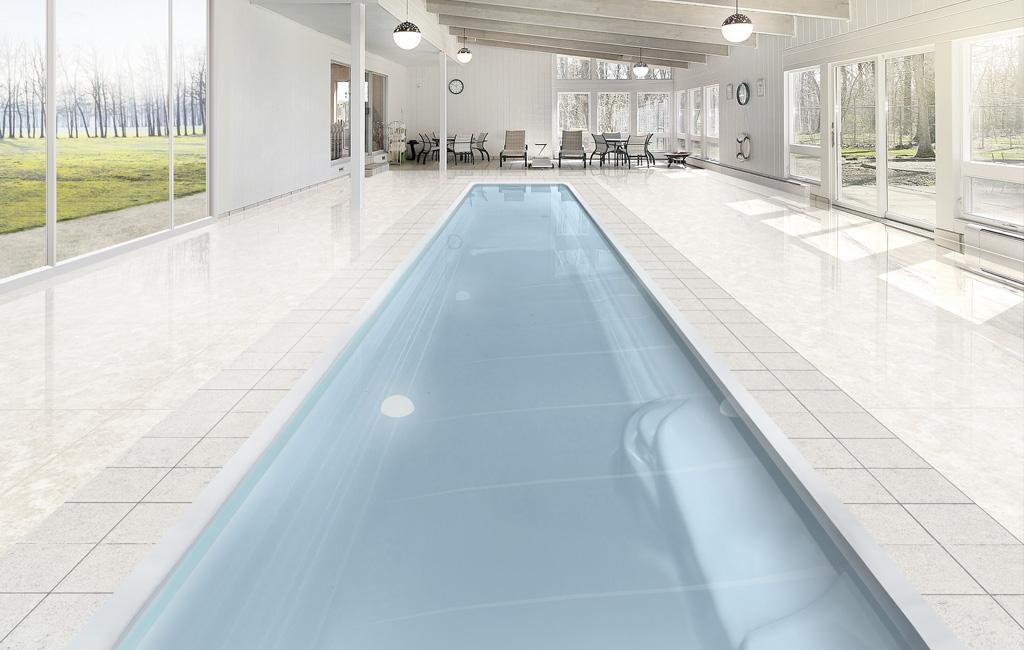 Piscine avec couloir de nage for Piscine de nage
